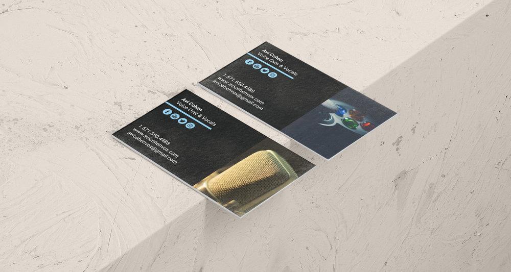 Avi cohens business cards mallory jacobson two cardsg colourmoves