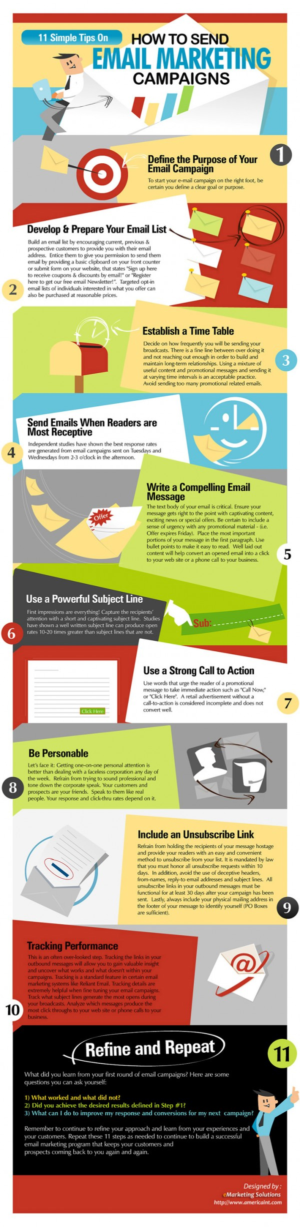Source:  https://blog.red-website-design.co.uk/2014/10/06/11-simple-tips-to-create-the-perfect-email-marketing-campaign/