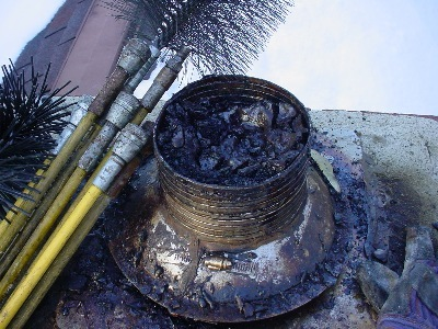 Chimney Creosote Buildup