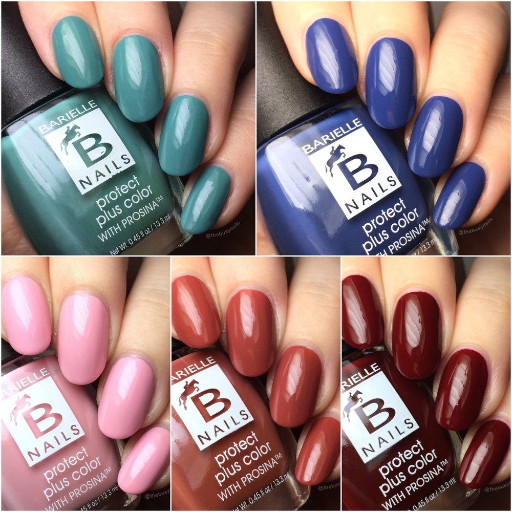 Barielle New York at Night Collection - Swatches, Review & Nail Art ...