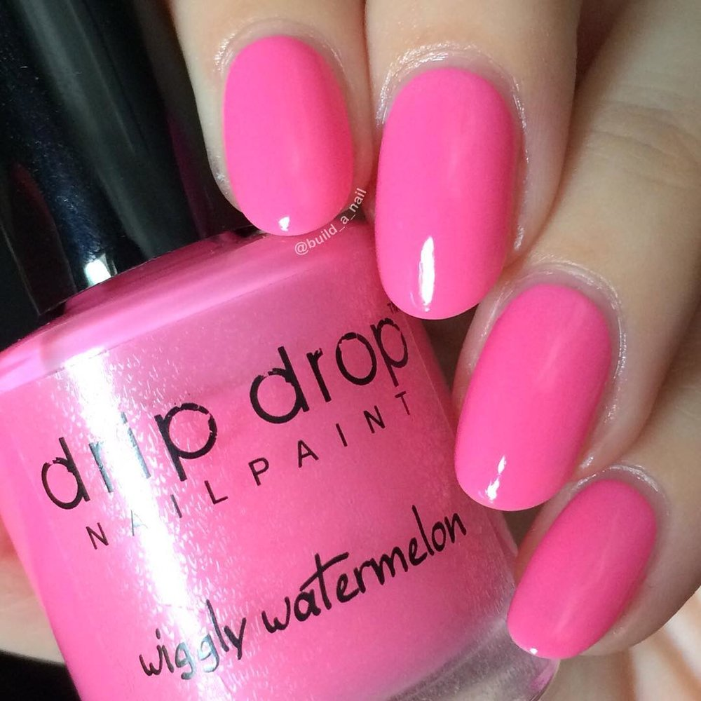 "Drip Drop Nail Paint ""Wiggly Watermelon"""