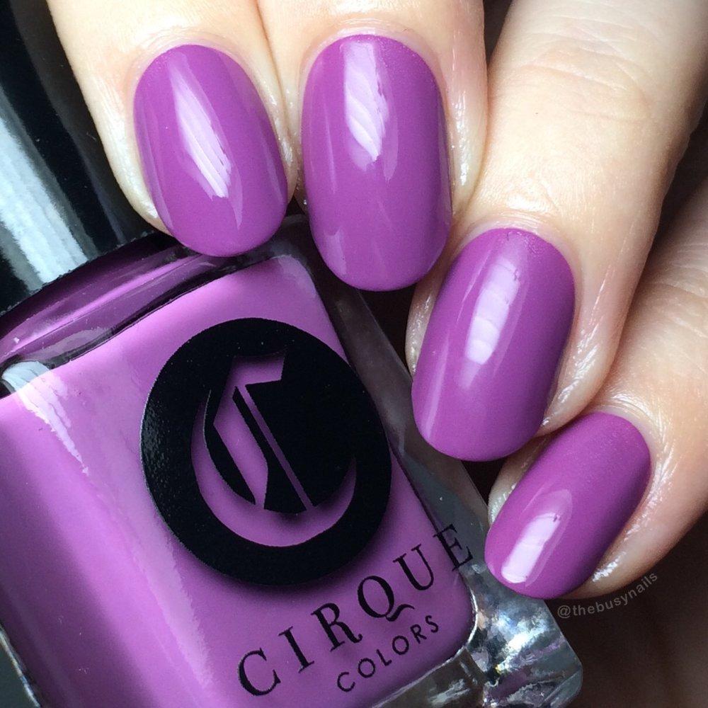 """Cirque Colors """"Cosmopolitan"""" - 2 coats + topcoat"""