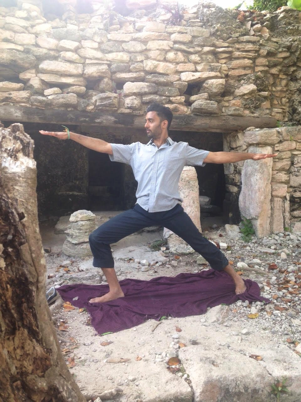 Hariprasad Kowtha Is One Of The Few South Asian Men Teaching Yoga In Philadelphia He Grew Up Closely Tied To Indian Culture Speaking Telugu At