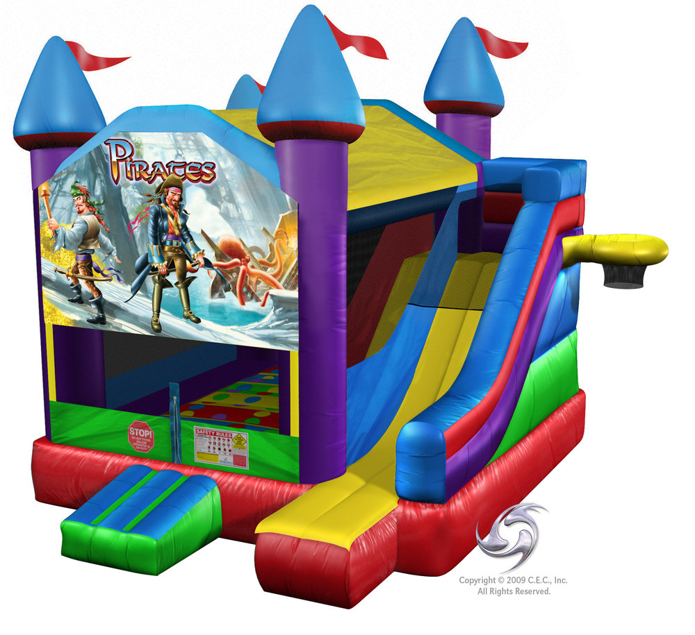 Inflatable Bounce House Combo Rental