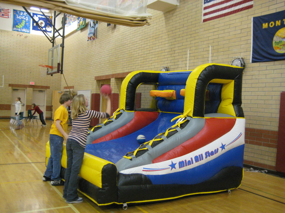Interactive Basketball Party Rental Montana