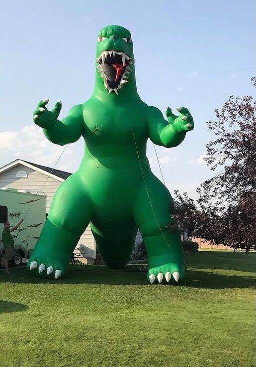 Inflatable Advertising Rental - Dinosaur Godzilla