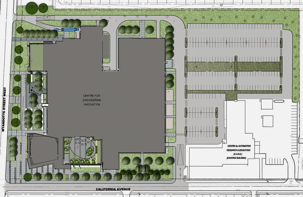20110301-CEI U of Windsor_landscape plan.jpg
