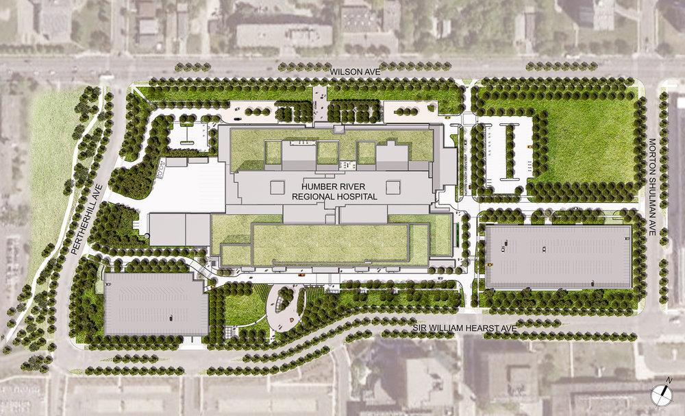 Master Plan for Humber River Regional Hospital — Toronto, Ontario