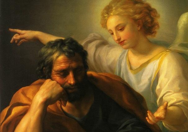 Dream of St. Joseph by Francisco Rizi