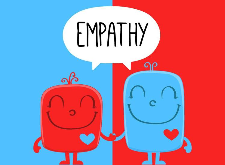 empathy not just sympathy
