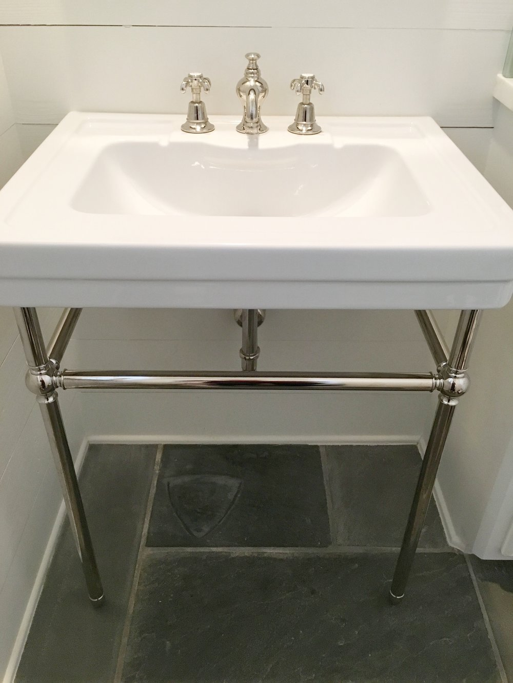 Fixturefriday Console Sink Strutton Plumbing Company