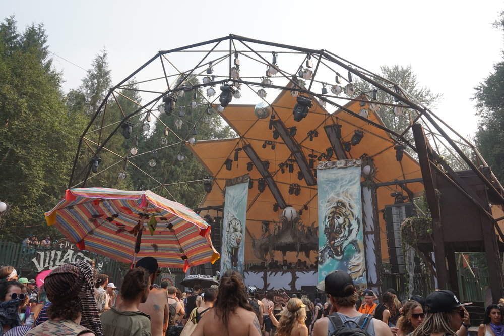 The Village Stage Shambhala