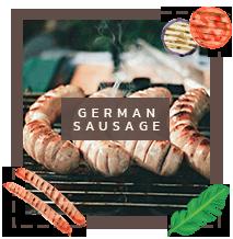 ไส้กรอกเยอรมัน