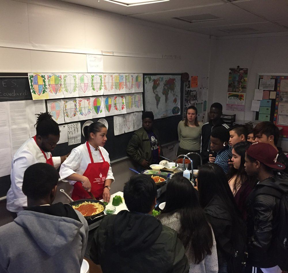 March 2018      STEM education   amid Amazon buzz --   Eminent Hospitality   culinary arts demos -- Schiller students attend   Seeds of Change conference   -- learning science through games -- artistic expression    Read full newsletter