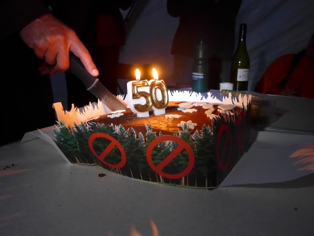 50th Birthday Cake for Pine Pulling
