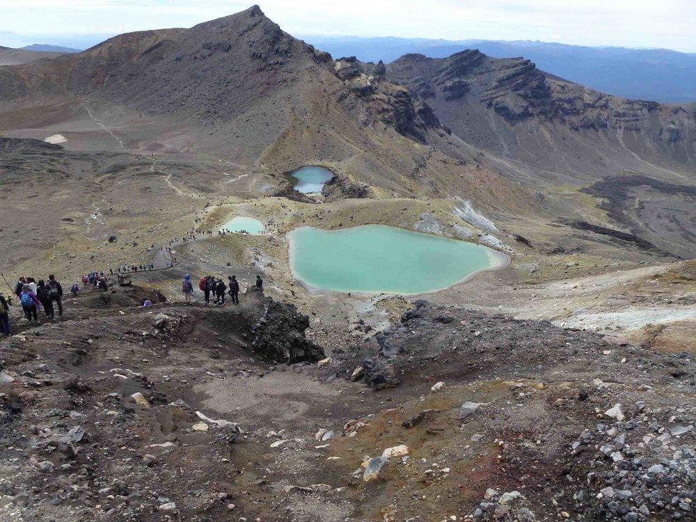 Emerald Lakes , Tongariro Alpine Crossing