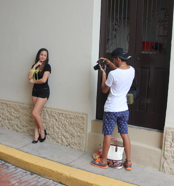 Aspiring model , Panama City