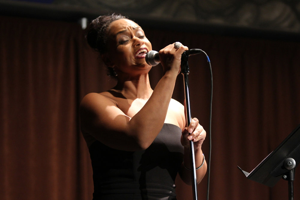 "Rema Webb sings ""Mine"""
