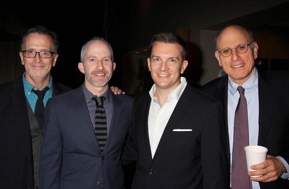 With our hosts Tim Pinckney & Mitchell Bernard