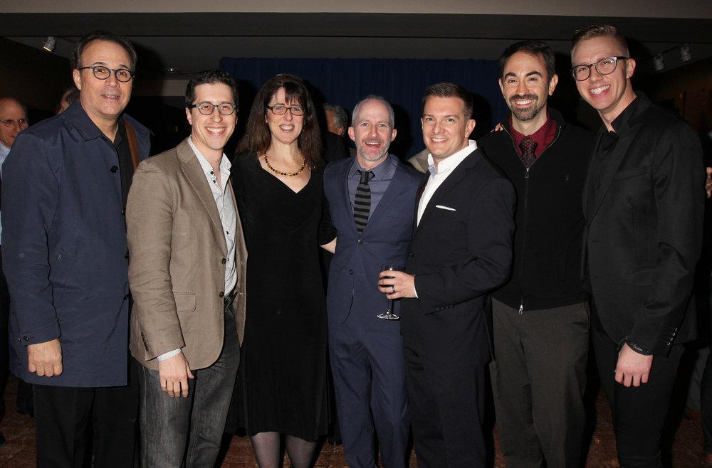 A whole gang of Ebb Award winners