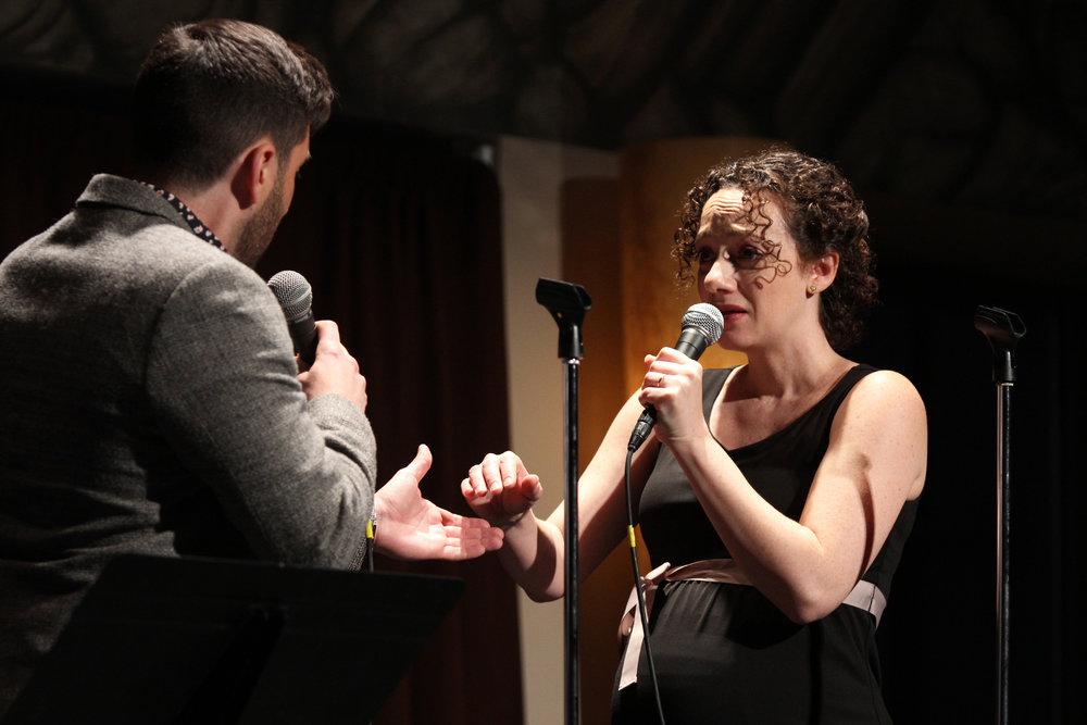 "Zachary Prince & Megan McGinnis sing ""Take My Hand"""
