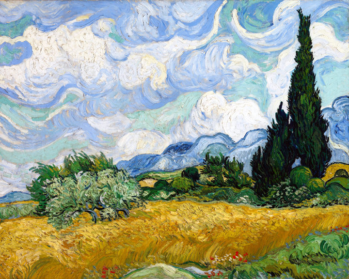 Van Gogh Wheat Field with Cypresses 2.5 Hours