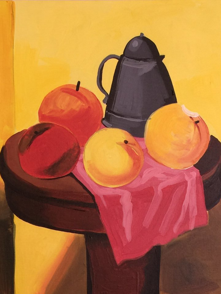Botero Still Life 2.5 Hours