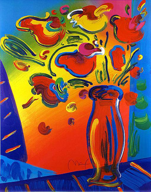 Peter Max Flowers 2 Hours