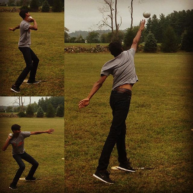 LOOK AT THAT FORM! Trident's bass Michael Maliakel showing us how it's done! @mmaliakel
