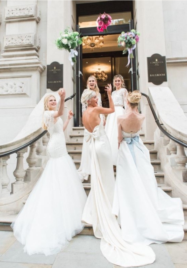 Brides magazine at Corinthia