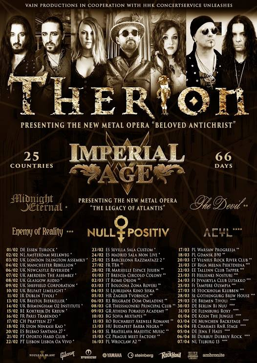 Therion Tour Dates 2018