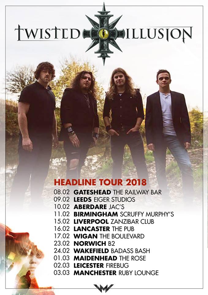 Twisted Illusion Tour Dates 2018