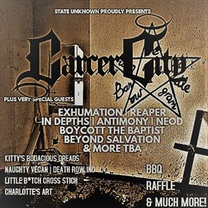 Carcer City April 28th 2018 at EBGBS in Liverpool.