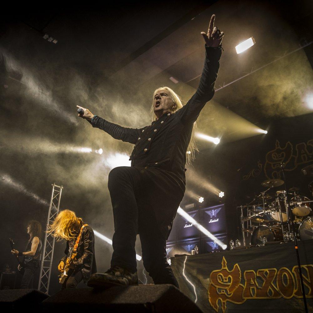 Saxon / Academy / Manchester October 21st