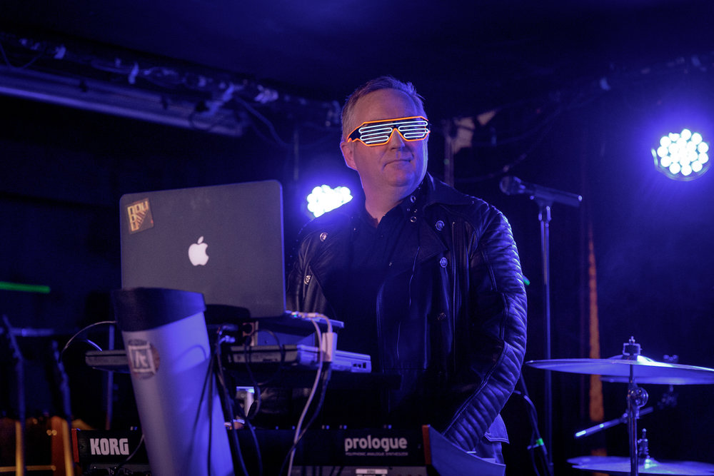 Gary Watts of Nature Of Wires at The Ruby Lounge