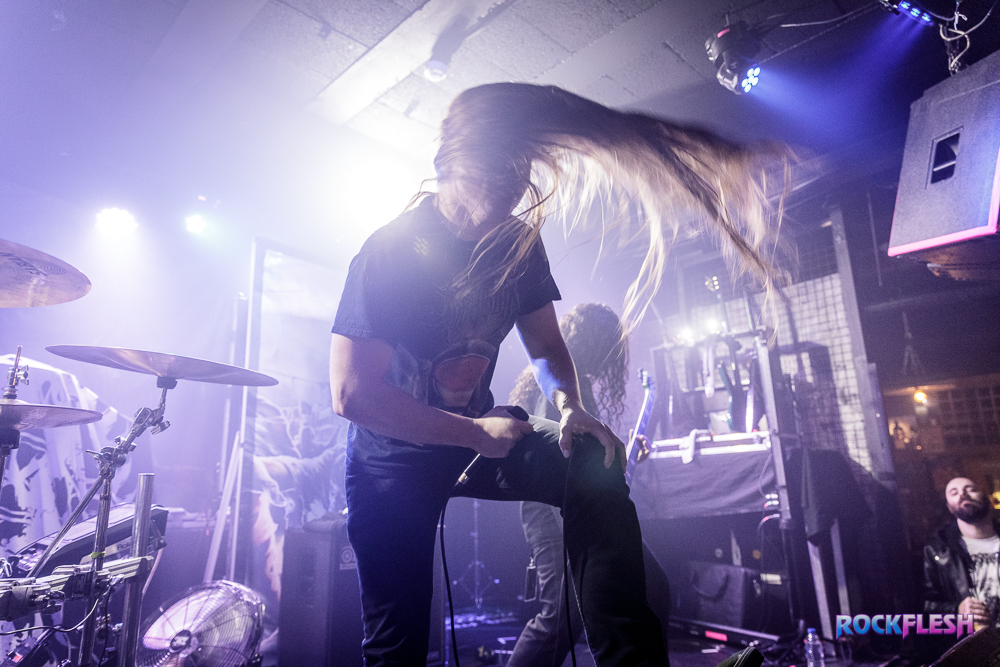 Cryptopsy live at Rebellion in Manchester on December 1st 2018.