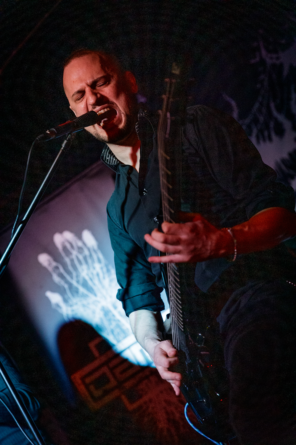 Damim live at the Star And Garter in Manchester on December 16th 2018. ©Johann Wierzbicki | ROCKFLESH