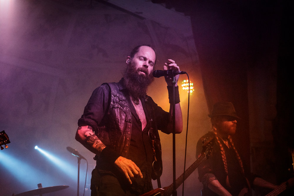 Sólstafir live at the Deaf Institute in Manchester on December 19th 2018. ©Johann Wierzbicki | ROCKFLESH