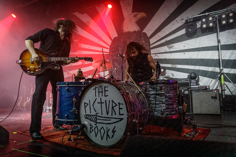 The Picturebooks live at the Academy in Manchester on December 20th 2018. ©Johann Wierzbicki | ROCKFLESH