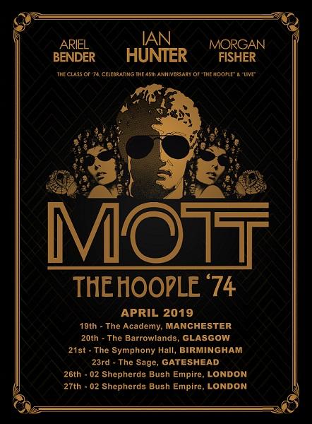 Mott The Hoople Tour Dates 2019