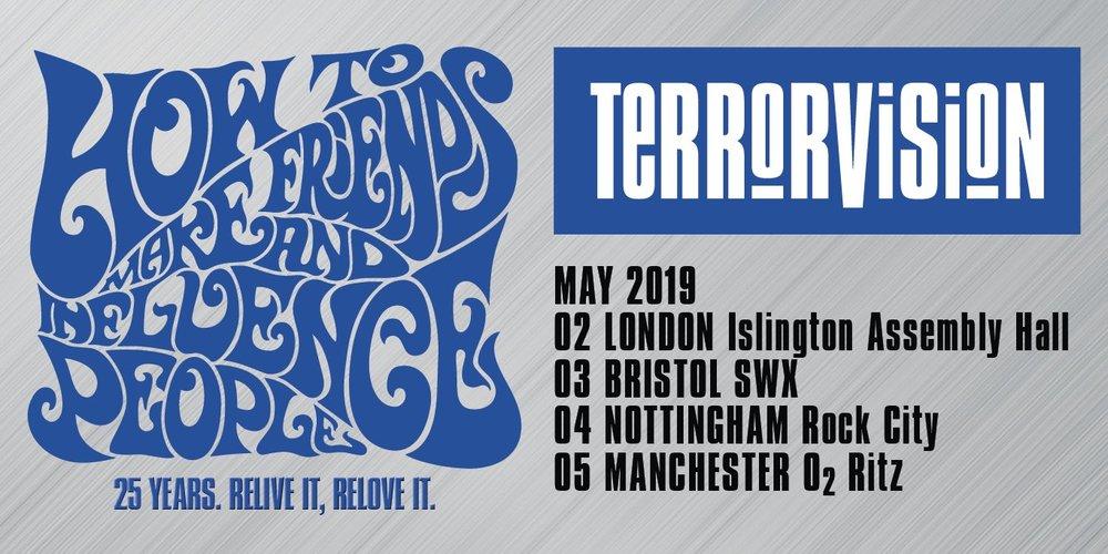 Terrorvision band 2019 tour dates