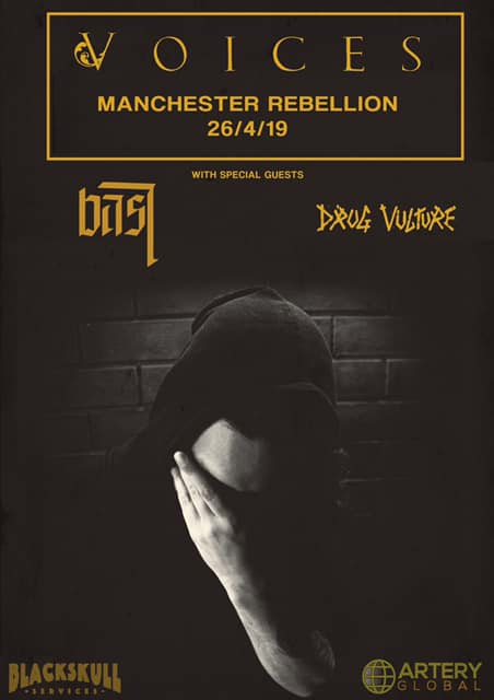 Voices at Rebellion in Manchester poster