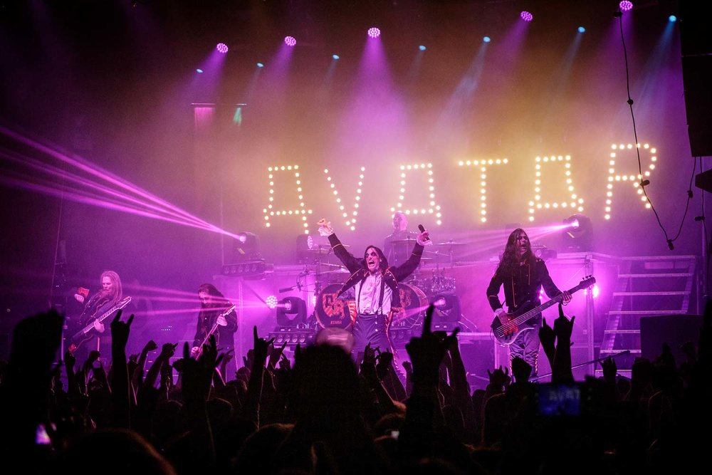 Avatar live at O2 Ritz in Manchester on January 18th 2019. ©Johann Wierzbicki | ROCKFLESH