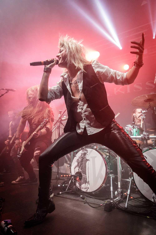 Kissin' Dynamite live at Academy 2 in Manchester on January 19th 2019. ©Johann Wierzbicki | ROCKFLESH