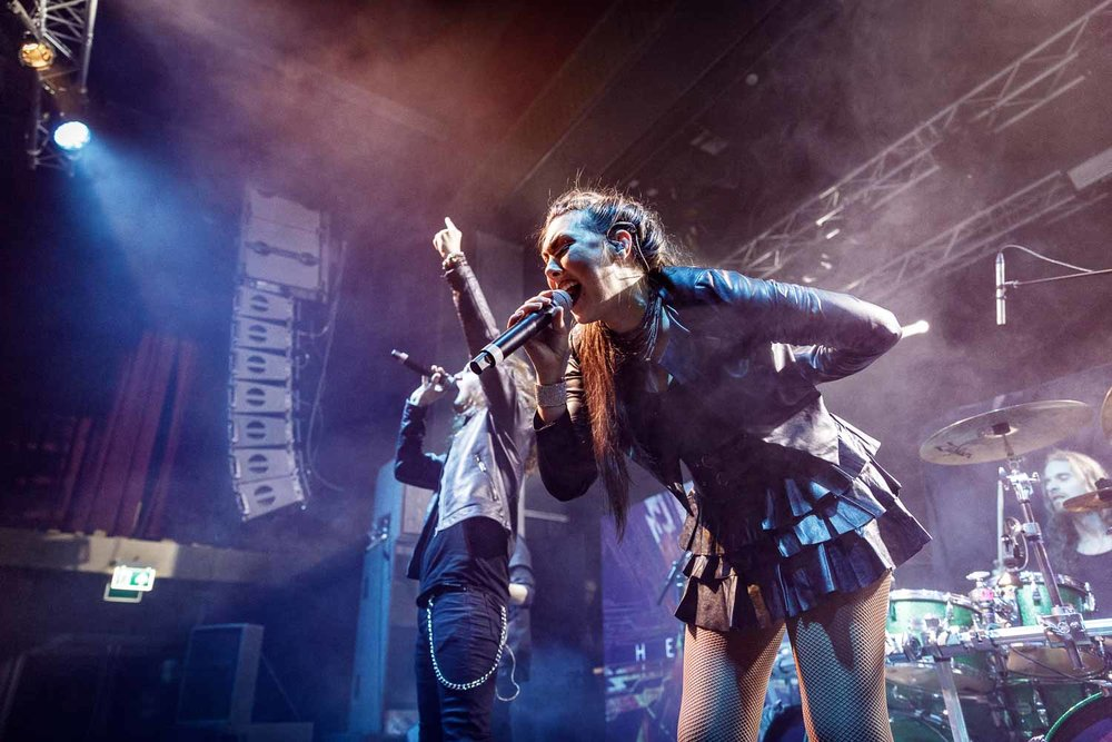 Amaranthe live at Academy 2 in Manchester on January 19th 2019. ©Johann Wierzbicki | ROCKFLESH