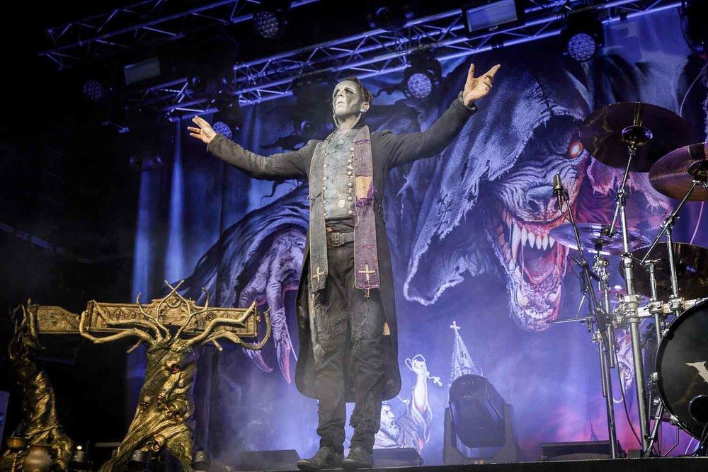 Powerwolf live at Academy 2 in Manchester on January 19th 2019. ©Johann Wierzbicki | ROCKFLESH