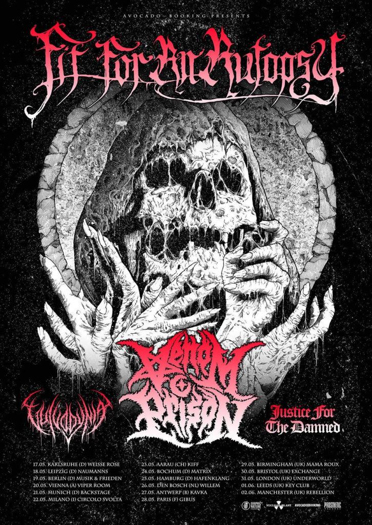 Fit For An Autopsy Tour Dates 2019