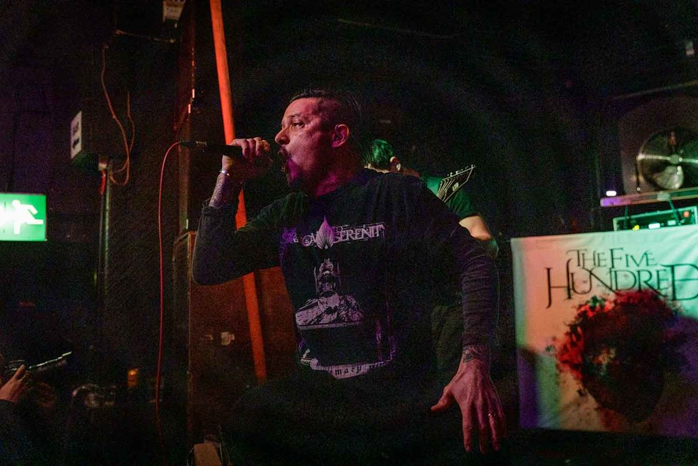 The Five Hundred at Star And Garter in Manchester on February 2nd 2019