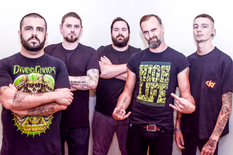 Deified Band Photo Promo