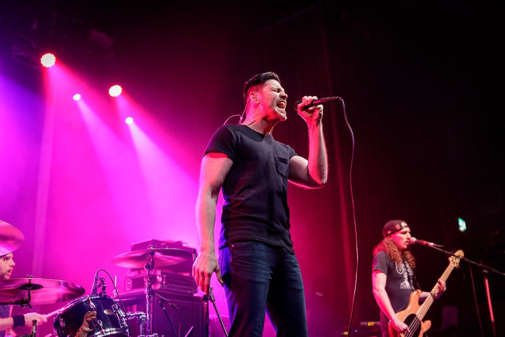 Adelitas Way at O2 Ritz in Manchester on February 5th 2019. ©Johann Wierzbicki | ROCKFLESH